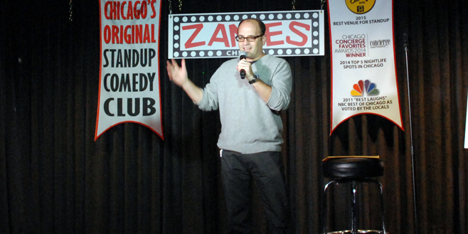 Larry Bloom at Zanies Chicago