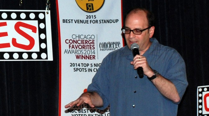 Tuesday Ten Comedy Showcase Zanies Rosemont featuring Larry Bloom