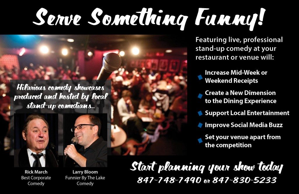 Serve Something Funny - Comedy at your venue