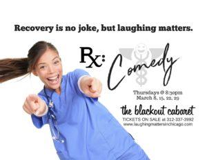 RX: Comedy @ The Blackout Cabaret | Chicago | Illinois | United States