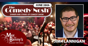The Comedy Nosh - 06-28-2018 @ Max and Benny's Restaurant | Northbrook | Illinois | United States