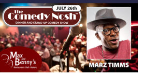 The Comedy Nosh - 07-26-2018 @ Max and Benny's Restaurant | Northbrook | Illinois | United States