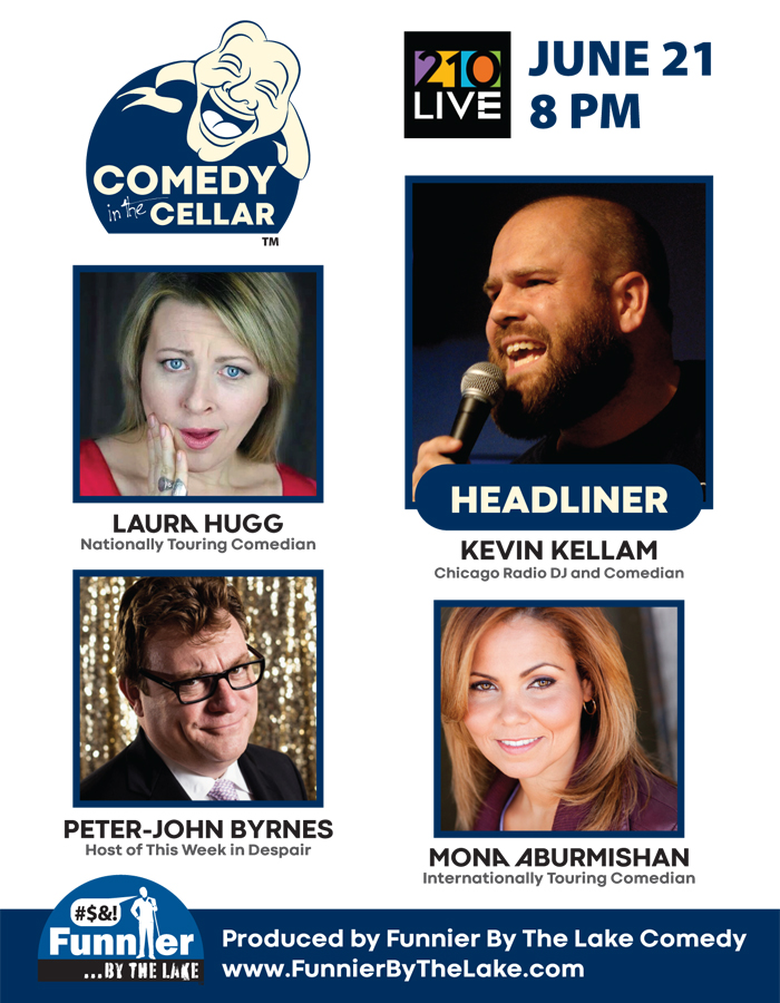Chicago's Comedy Cellar is Comedy in the Cellar 210 Live Highwood