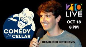 Comedy in the Cellar - October 18, 2018 @ 210 Restaurant | Highwood | Illinois | United States
