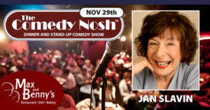 The Comedy Nosh - 11-29-2018 @ Max and Benny's Restaurant | Northbrook | Illinois | United States