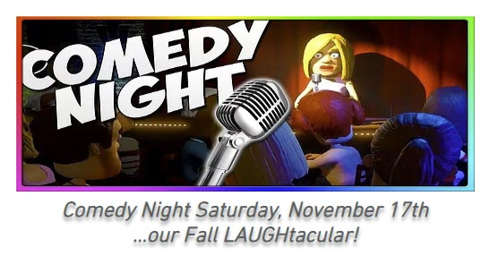 Comedy Night LAUGHtacular Evergreen Country Club