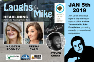 Laughs for Mike @ Buffalo Grove Community Arts Center | Buffalo Grove | Illinois | United States
