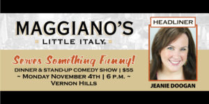 Serve Something Funny at Maggiano's Little Italy @ Maggiano's Little Italy | Vernon Hills | Illinois | United States