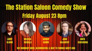 The Station Saloon Comedy Show @ The Station Saloon | Bloomington | Illinois | United States