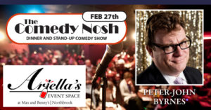 The Comedy Nosh - 02-27-2020 @ Max and Benny's Restaurant | Northbrook | Illinois | United States