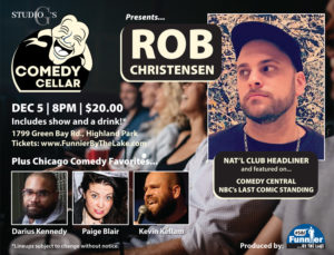 Studio G's Comedy Cellar December Showcase @ Studio G | Highland Park | Illinois | United States